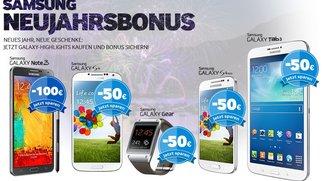 Samsung Neujahrsbonus gestartet: Bis zu 100€ Cashback erhalten