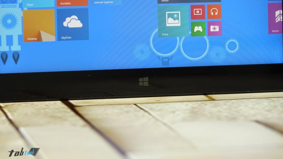 Touchsensitiver Windows Button des Omni 10