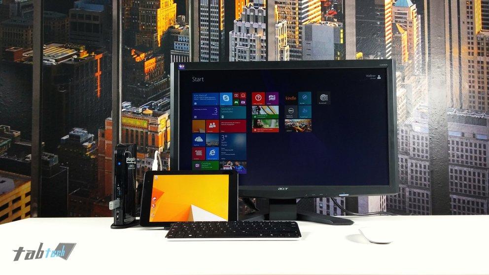 Dell Venue 8 Pro - Arbeiten mit externem Monitor, Photoshop &amp&#x3B; Office