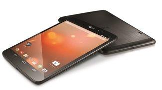 LG G Pad 8.3 &amp&#x3B; Sony Xperia Z Ultra Google Play Edition &amp&#x3B; Nexus 7 (2013) in Weiß präsentiert