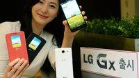 LG Gx mit 5,5 Zoll & Snapdragon 600 offiziell vorgestellt