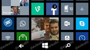 Windows Phone 8.1 Screenshot enthüllt On-Screen-Tasten