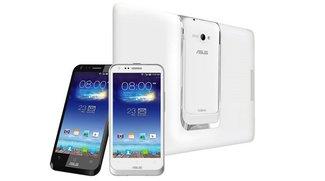 Asus PadFone E mit 4,7 Zoll Smartphone &amp&#x3B; 10,1 Zoll Tablet-Dock für Taiwan