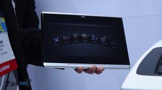 Audi Smart Display: 10,2-Zoll-Tablet Car-Entertainment Demo (CES 2014)