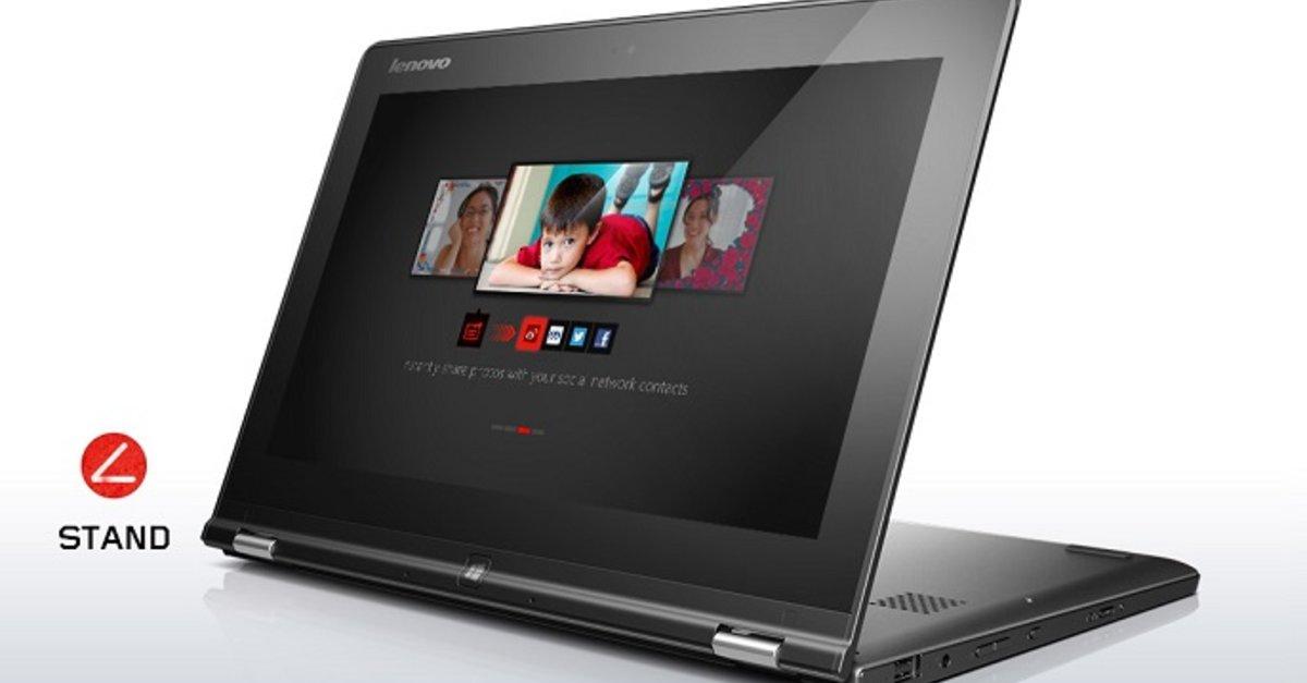 Lenovo yoga 2 11 im umfangreichen review video giga for Beistelltisch yoga ii