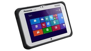 Panasonic Toughpad FZ-M1: Robustes 7 Zoll Intel Core i5 Windows 8.1 Tablet (CES 2014)