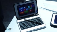 Panasonic Toughpad FZ-M1 in unserem Hands-On Video (CES 2014)