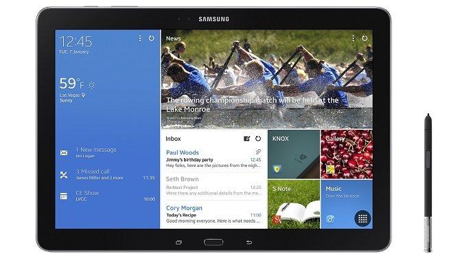 Samsung Galaxy NotePRO 12.2 und TabPRO 8.4, 10.1 &amp&#x3B; 12.2 vorgestellt (CES 2014)