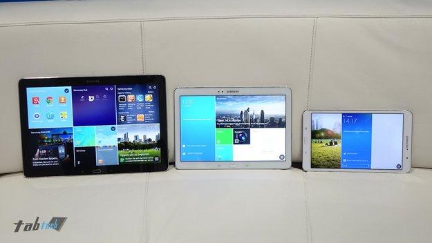 Samsung Galaxy NotePRO 12.2 &amp&#x3B; TabPRO 8.4 und 10.1 in Hands-On Videos (CES 2014)