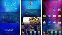 Neue Samsung Oberfläche für Android Smartphones auf ersten Screenshots