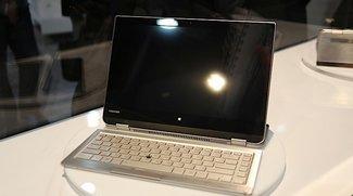 Toshiba zeigt 5-in-1-Konzept mit abnehmbarer Tastatur (CES 2014)