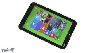 Toshiba WT10: Windows-Tablet mit 10 Zoll in Arbeit?