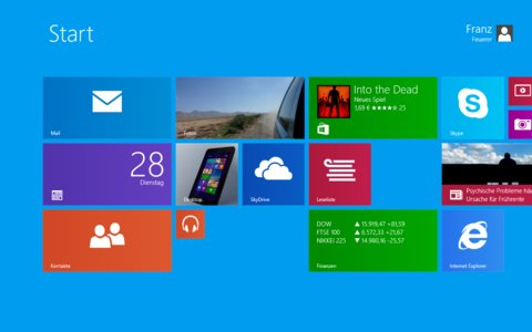 VivoTab Note 8 Modern UI