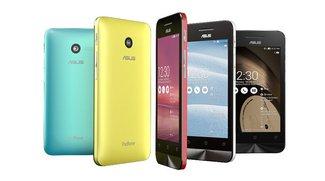 Asus ZenFone 4, 5 &amp&#x3B; 6 Android 5.0 Updates im Mai, PadFone S im Juni