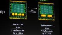 Nvidia Denver 64-Bit Dual-Core-Prozessor mit 3 GHz im ersten Benchmark