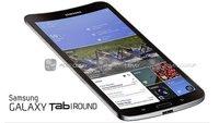 Samsung Galaxy Tab Round Konzept: Gebogenes Tablet im Anmarsch?