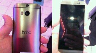HTC M8 im Edelstahl-Look auf neuen Bildern