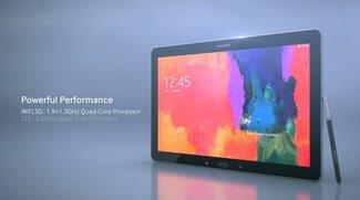 Introducing Samsung Galaxy NotePRO 12.2 - Weiteres Promo-Video veröffentlicht