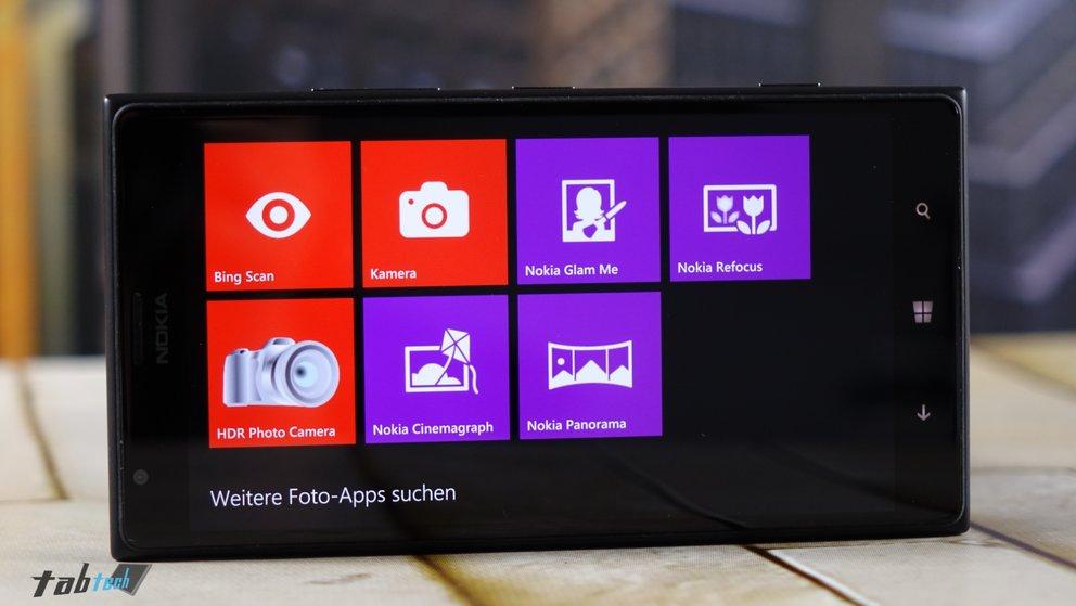 Kamera Apps des Lumia 1520