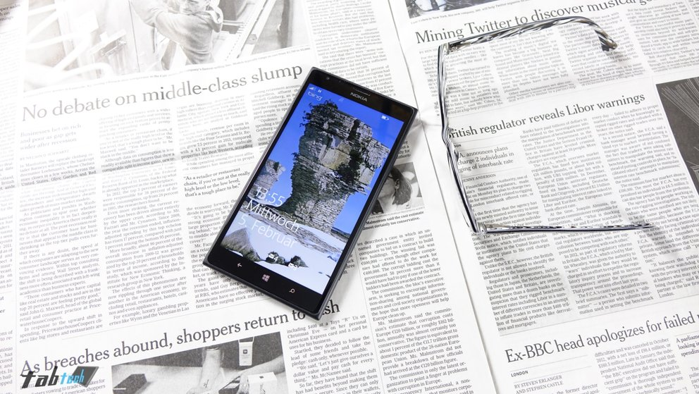 Review: Nokia Lumia 1520 mit Windows Phone 8 im Test