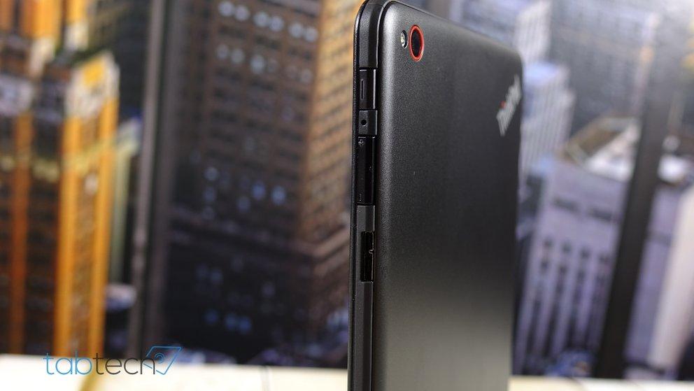 Micro USB 3.0 Anschluss des ThinkPad 8