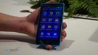 Nokia XL: 5 Zoll Android Smartphone vorgestellt und im Hands-On Video