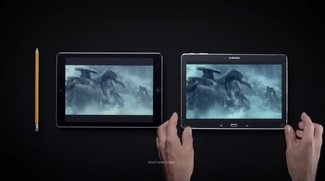 Neue Samsung Galaxy TabPRO 10.1 &amp&#x3B; Note 3 vs. iPad und iPhone Spots