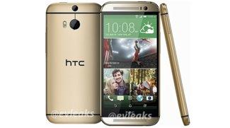 The All New HTC One 2014 in Gold vollständig auf Pressebild enthüllt