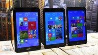 Vergleich: Lenovo ThinkPad 8 vs. Dell Venue 8 Pro & Asus VivoTab Note 8