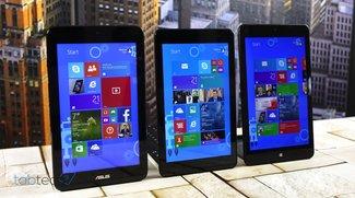 Vergleich: Lenovo ThinkPad 8 vs. Dell Venue 8 Pro &amp&#x3B; Asus VivoTab Note 8