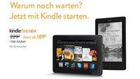 Deal: Amazon Kindle Fire HDX 7 um 40€ reduziert - ab 189€ zu haben