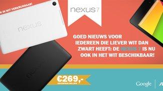 Nexus 7 (2013) in Weiß erhältlich - zumindest in den Beneluxländern