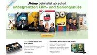 Amazon Kindle Fire HDX Tablets mit 20% Rabatt zum Start von Prime Instant Video