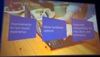 Microsoft: Windows 8.1 Update 1 im Frühling - Tablets mit 1 GB RAM & 16 GB Speicher