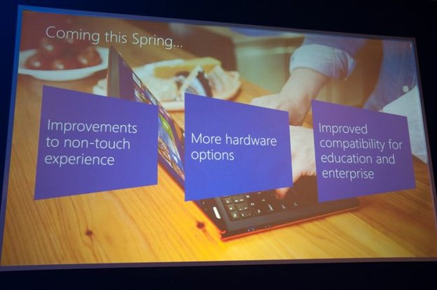 Microsoft: Windows 8.1 Update 1 im Frühling - Tablets mit 1 GB RAM &amp&#x3B; 16 GB Speicher