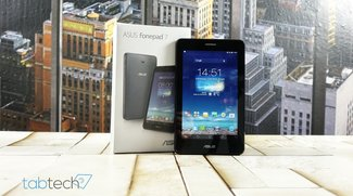 Asus Fonepad 7 (ME175CG) mit UMTS im Unboxing und Hands-On Video
