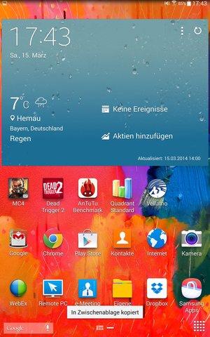 GT Pro 84 Homescreen