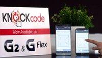 LG G2: Knock Code Update wird in Deutschland ausgerollt