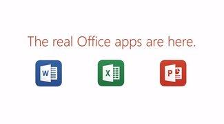 Microsoft Office für das Apple iPad ist da