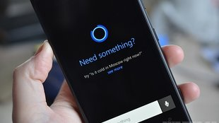 Microsofts Sprachassistent Cortana in Windows Phone 8.1 zeigt sich