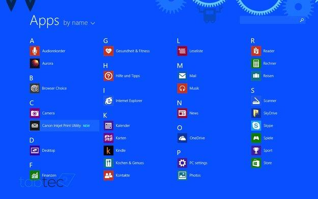 Windows 8.1 Update 1 auf dem Dell Venue 8 Pro ausprobiert (Video)