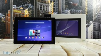 Sony Xperia Z2 Tablet im Unboxing und Hands-On Video