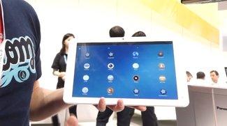 Tizen OS Tablet von Systena in unserem Hands-On Video