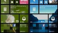 Windows Phone 8.1: Startbildschirm mit individuellem Hintergrundbild