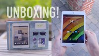 Acer Iconia A1-830 im Unboxing und Hands-On Video