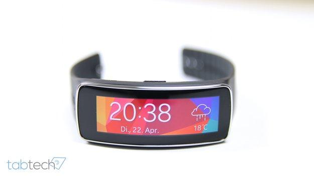 Review: Samsung Gear Fit im Test