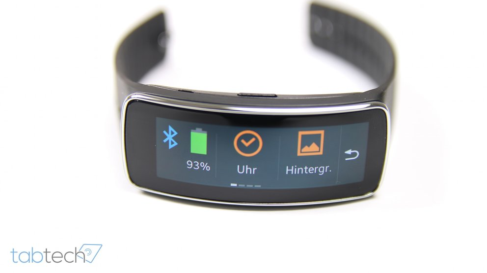 Gear Fit Menue 2