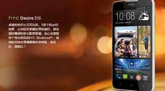 HTC Desire 316: Günstiges 5-Zoll-Smartphone mit Snapdragon 200