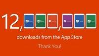 Microsoft Office für das iPad erreicht 12 Millionen Downloads in einer Woche