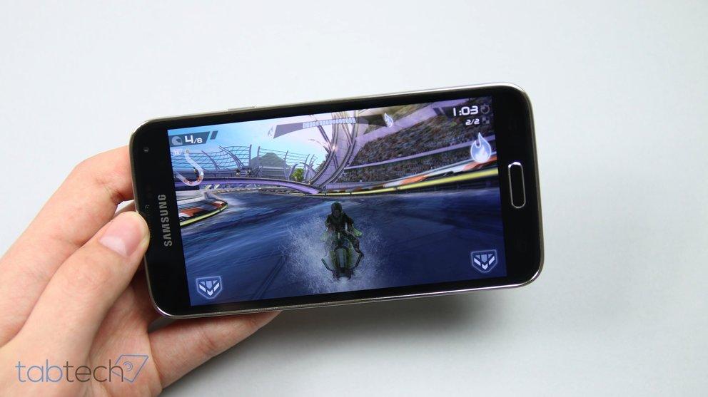 Samsung Galaxy S5 Im Spiele Und Gaming Test